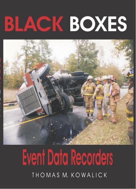 BLACK BOXES: Event Data Recorders EB9780974655642