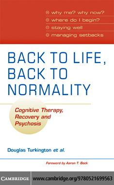 Back to Life, Back to Normality EB9780511501364