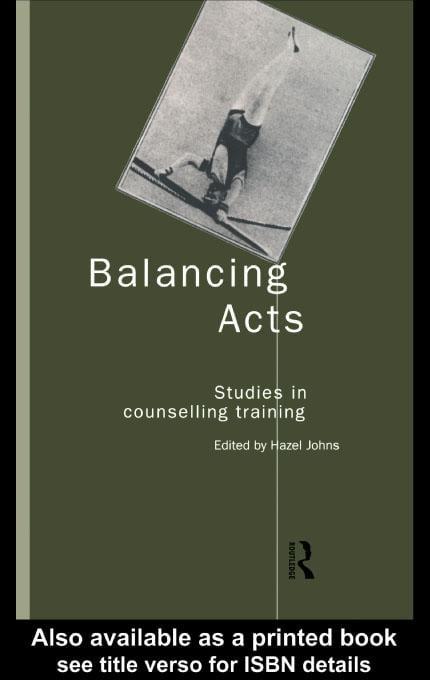 Balancing Acts EB9780203131022