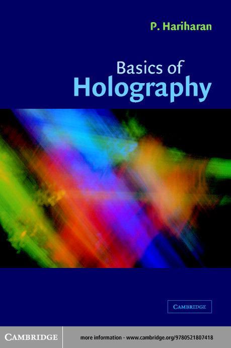 Basics of Holography EB9780511074899