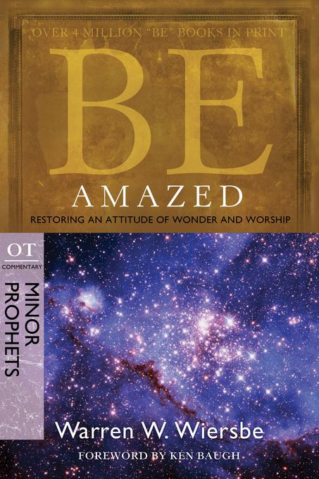 Be Amazed (Minor Prophets) EB9780781404426
