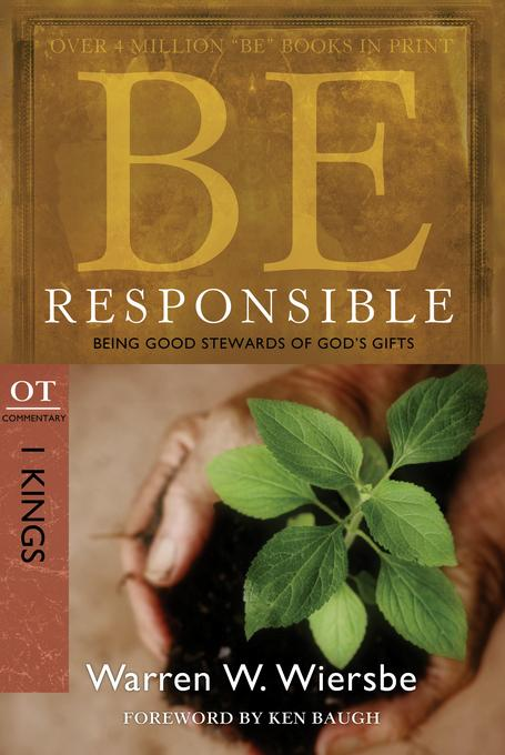 Be Responsible (1 Kings) EB9780781405638