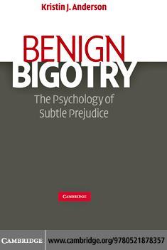 Benign Bigotry EB9780511687747