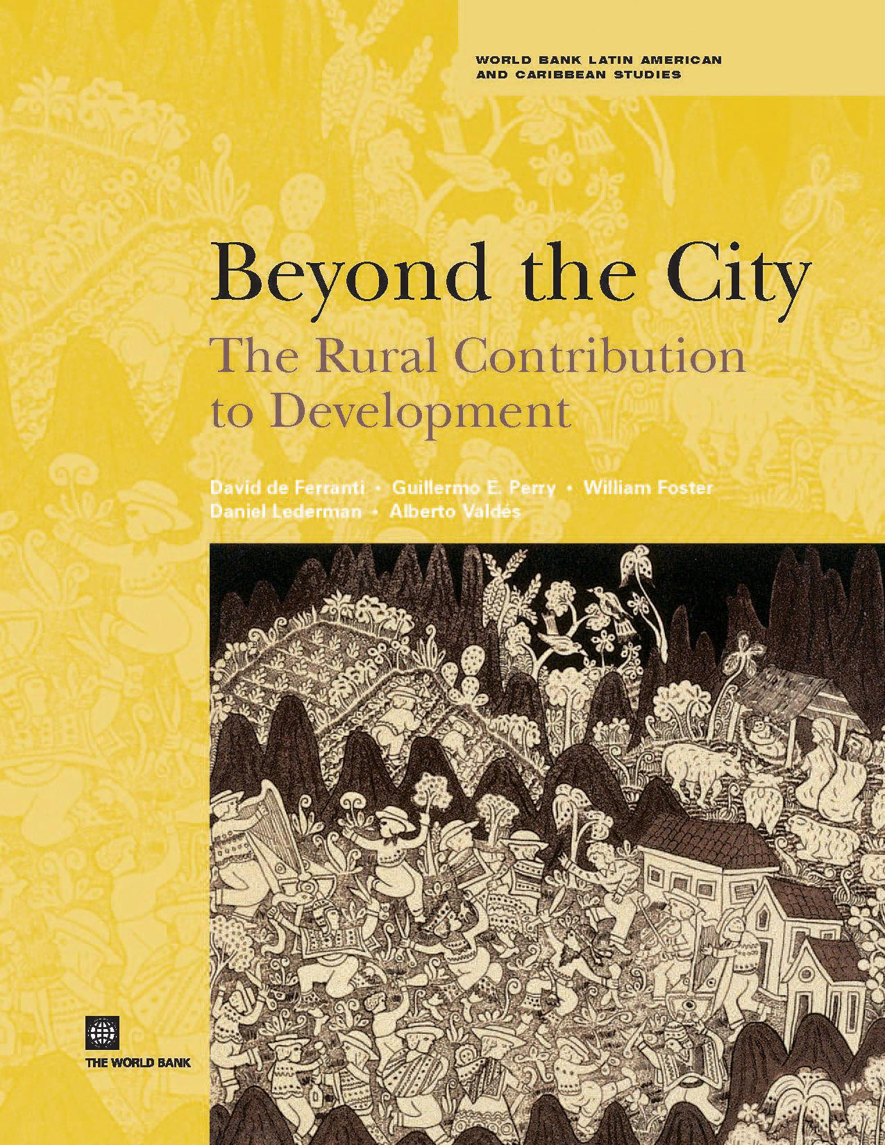 Beyond the City: The Rural Contribution to Development EB9780821360989