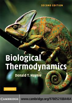 Biological Thermodynamics 2ed EB9780511380563
