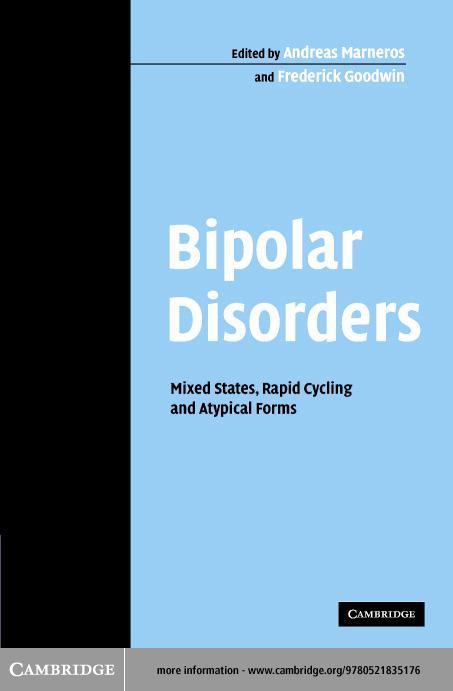 Bipolar Disorders EB9780511128660