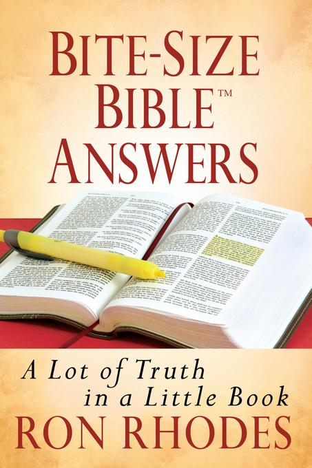 Bite-Size Bible? Answers: A Lot of Truth in a Little Book EB9780736941174