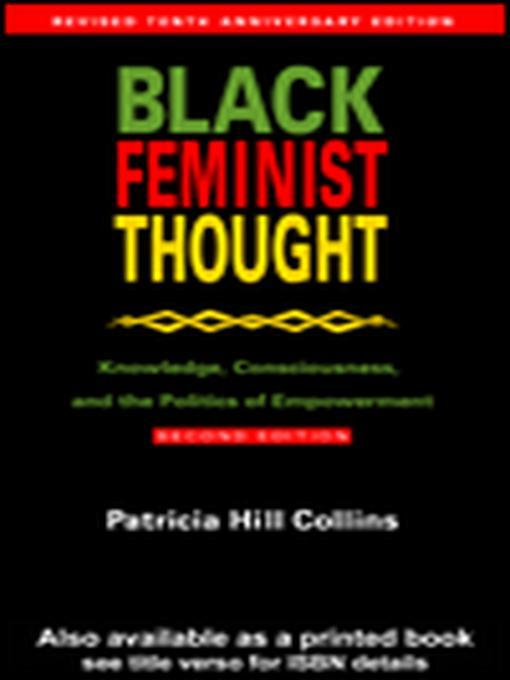 Black Feminist Thought EB9780203900093