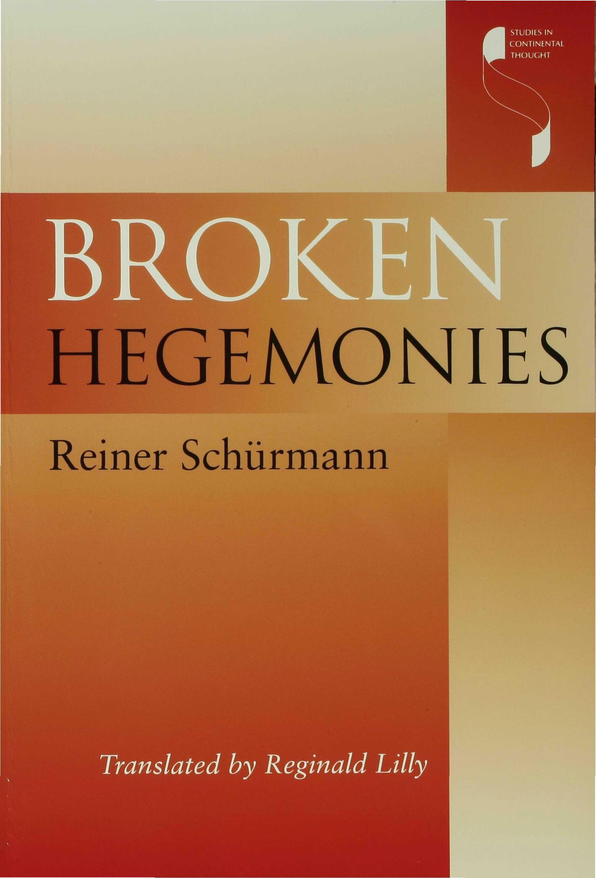 Broken Hegemonies EB9780253110534