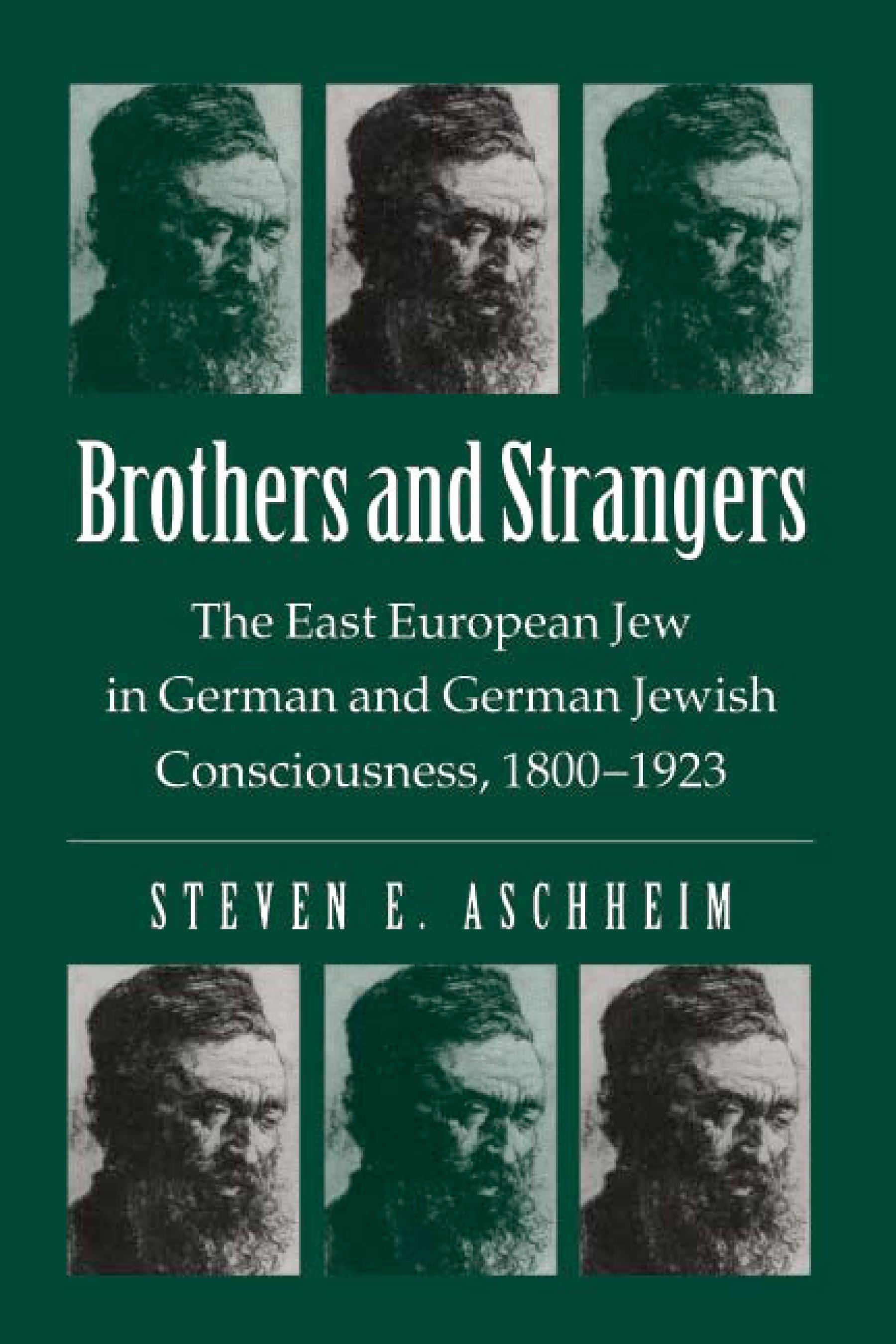 Brothers And Strangers: The East European Jew in German and German Jewish Consciousness, 1800?1923 EB9780299091132