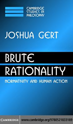 Brute Rationality EB9780511207631