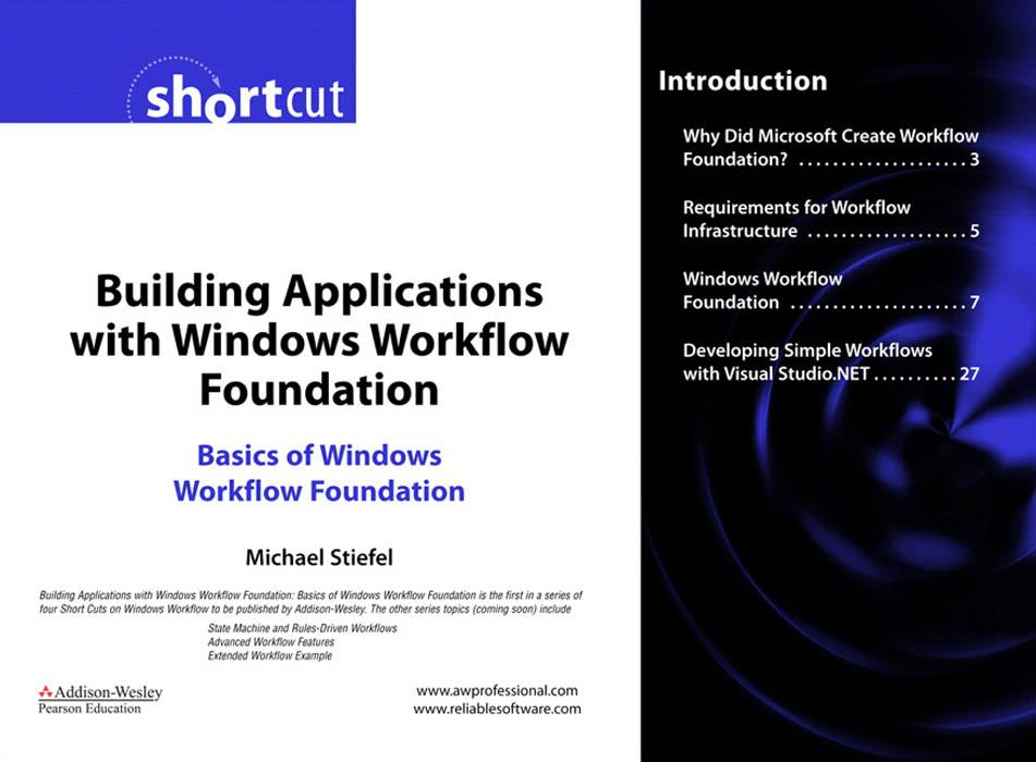 Building Applications with Windows Workflow Foundation: Basics of Windows Workflow Foundation EB9780321514547