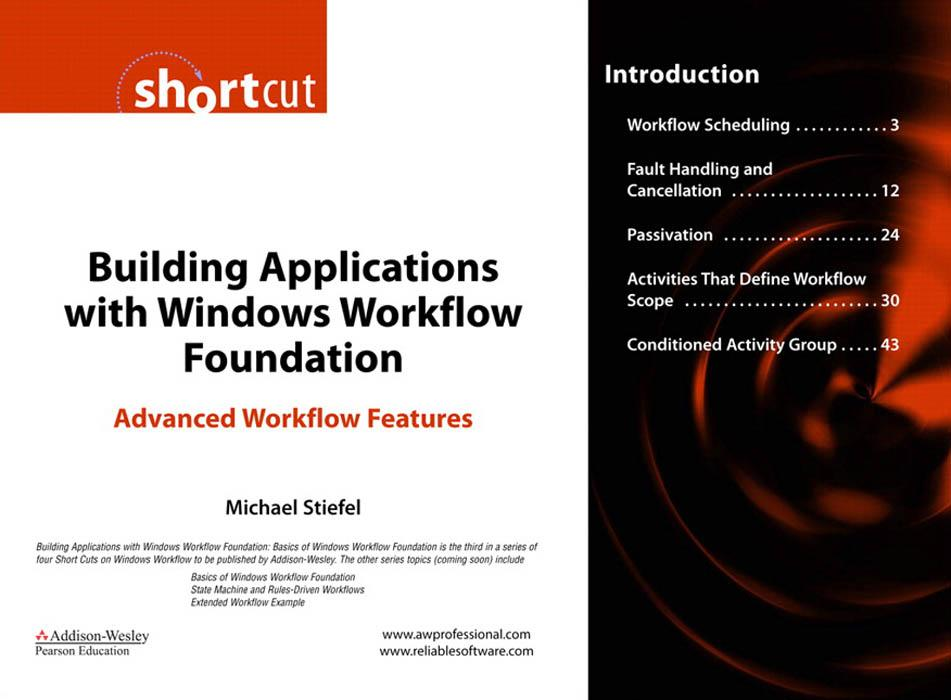 Building Applications with Windows Workflow Foundation (WF) EB9780321515988