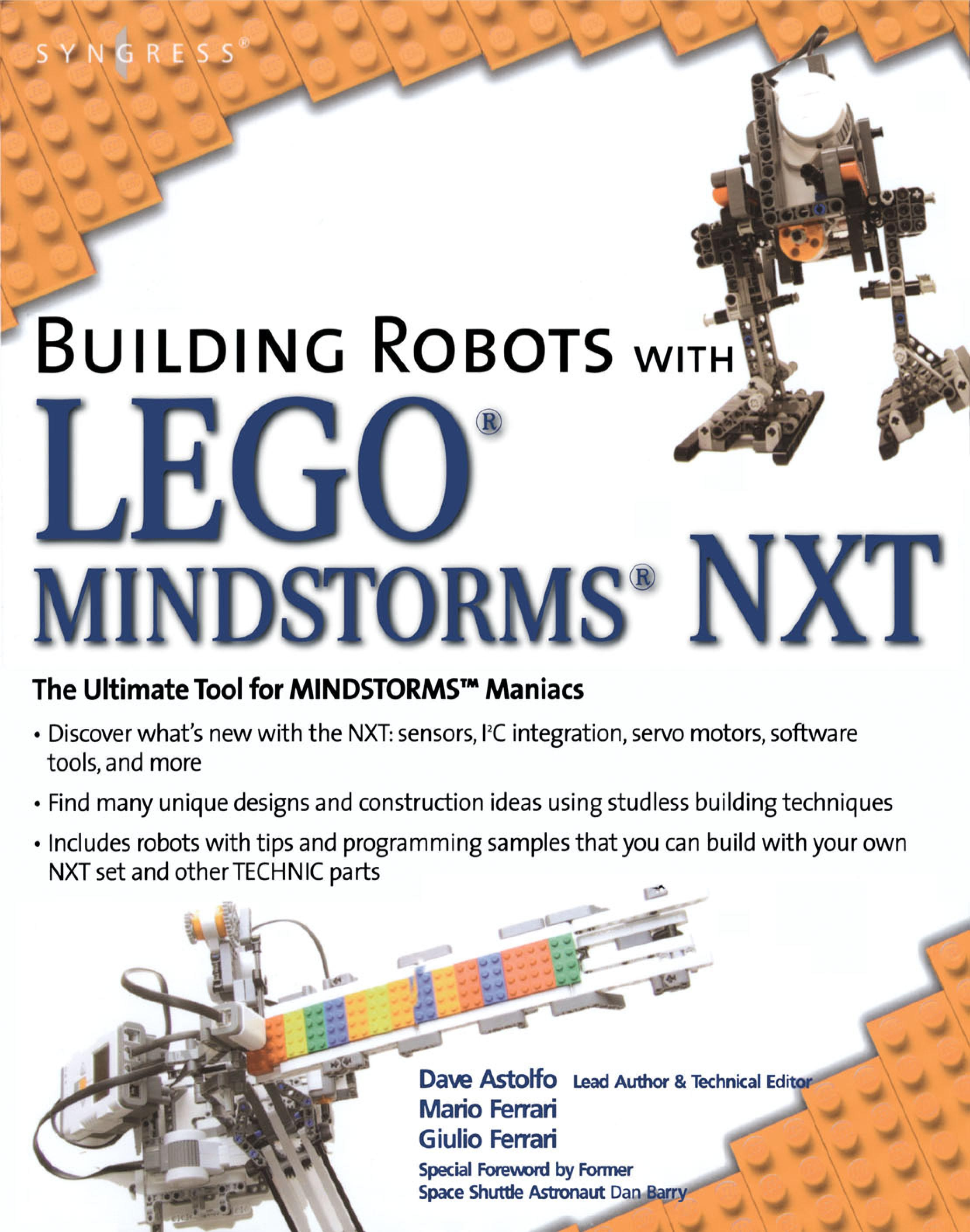 Building Robots with LEGO Mindstorms NXT EB9780080554334