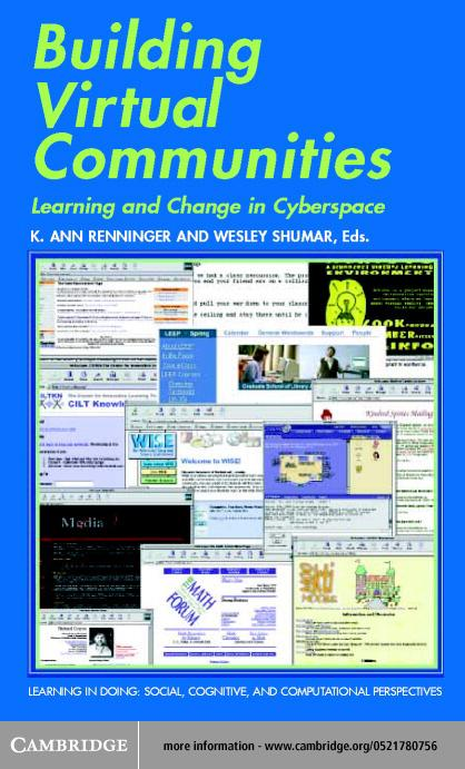 Building Virtual Communities EB9780511034893