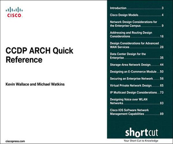 CCDP ARCH Quick Reference (Digital Short Cut) EB9780132702683