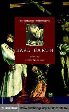 Camb Companion to Karl Barth EB9780511222085