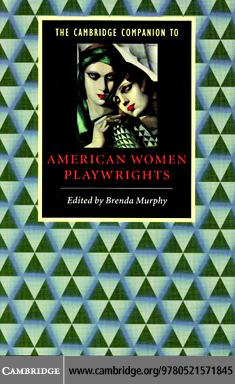 Camb Companion to Women Playwrights EB9780511221828
