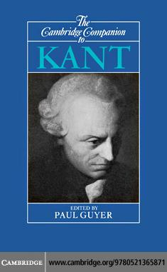 Cambridge Companion to Kant 1ed EB9780511222443