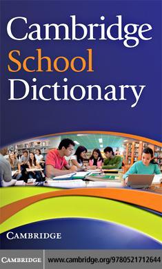 Cambridge School Dictionary EB9780511451270