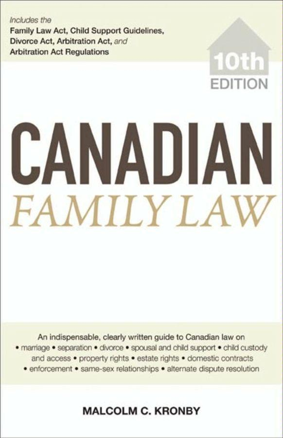 Canadian Family Law EB9780470676479