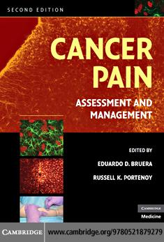 Cancer Pain EB9780511636950