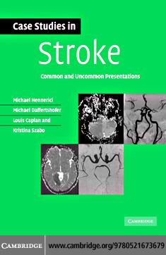 Case Studies in Stroke EB9780511292064