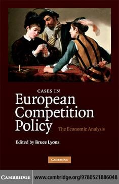 Cases in European Competition Policy EB9780511629860