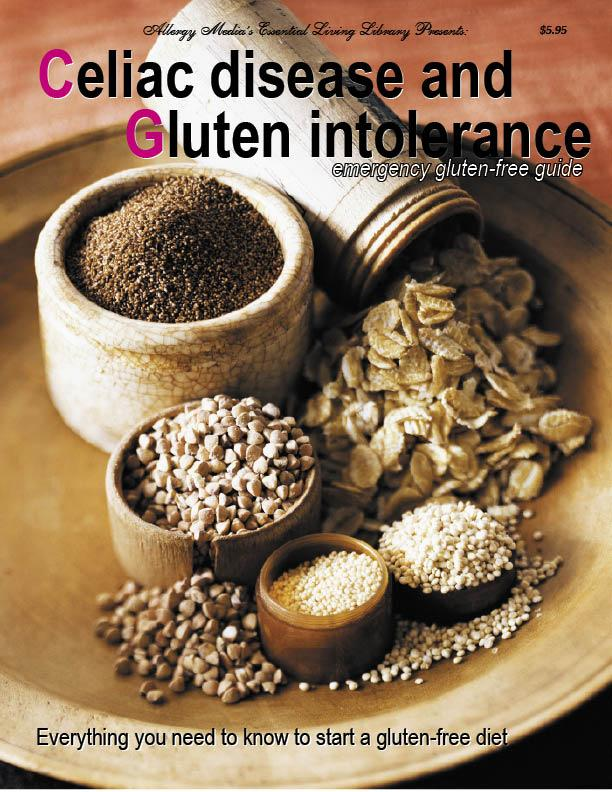 Celiac Disease and Gluten Intolerance Emergency Gluten-Free Guide EB9780975910801