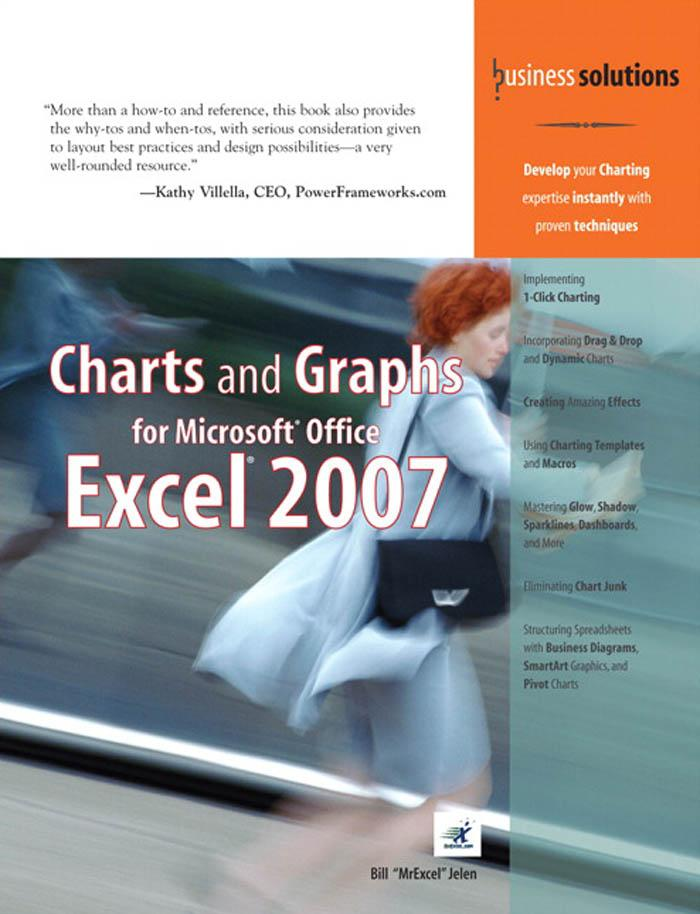 Charts and Graphs for Microsoft(r) Office Excel 2007 EB9780768674842