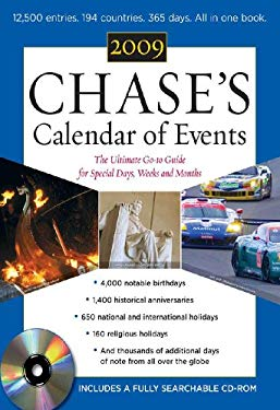 Chase's Calander of Events 2009 EB9780071642408