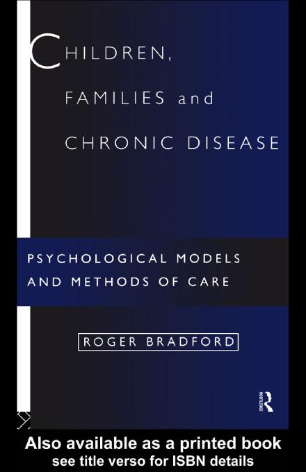 Children, Families and Chronic Disease EB9780203180259