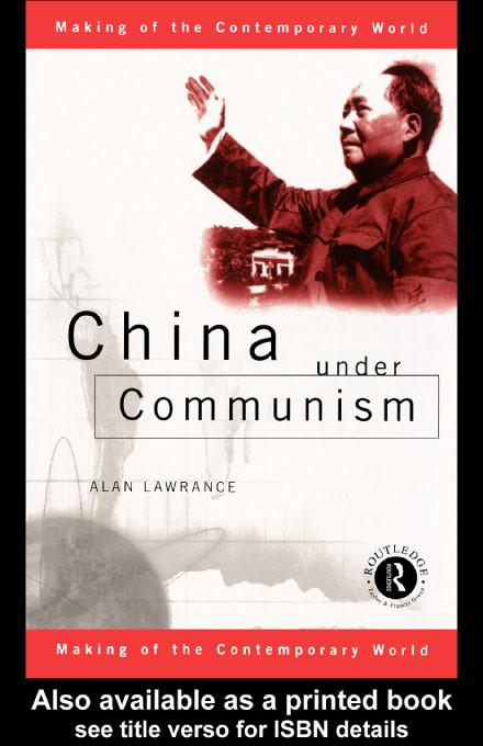 China Under Communism EB9780203202302