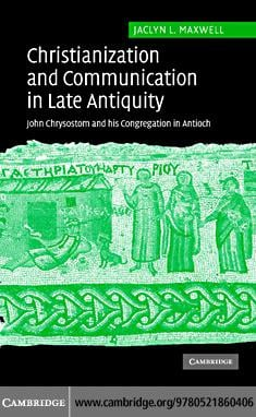 Christ Comm Late Antiquity EB9780511247910