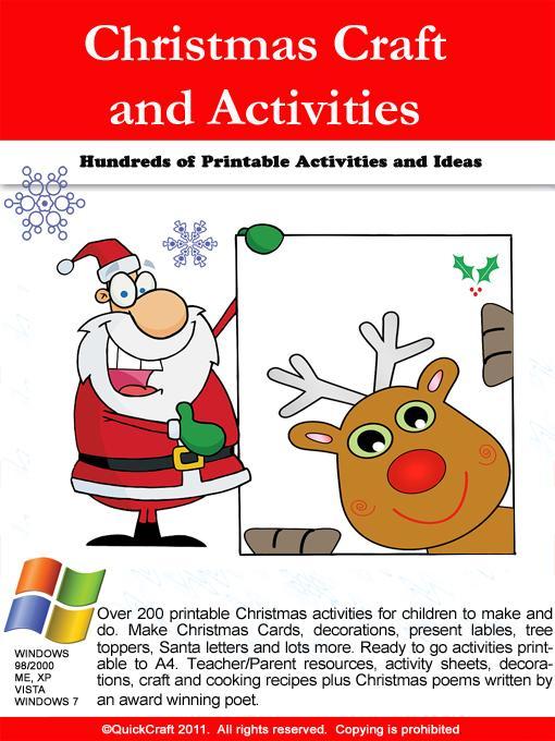 Christmas Craft Printable Activities EB9780980605228