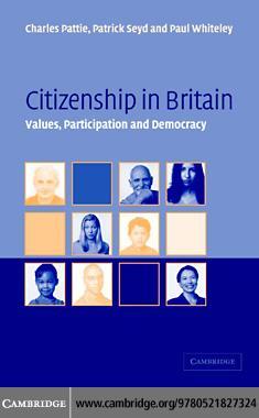 Citizenship in Britain EB9780511262074