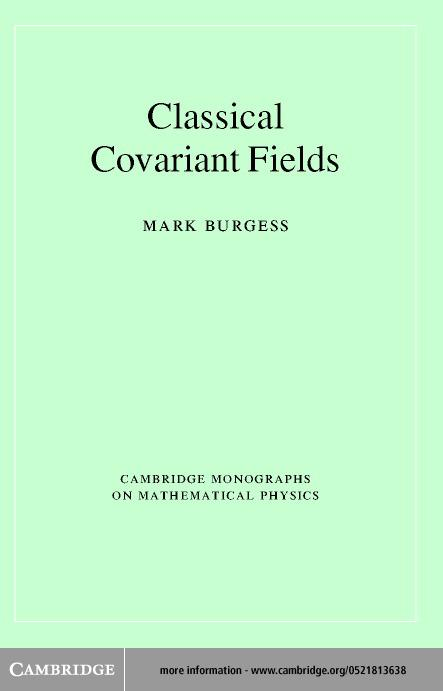 Classical Covariant Fields EB9780511030215