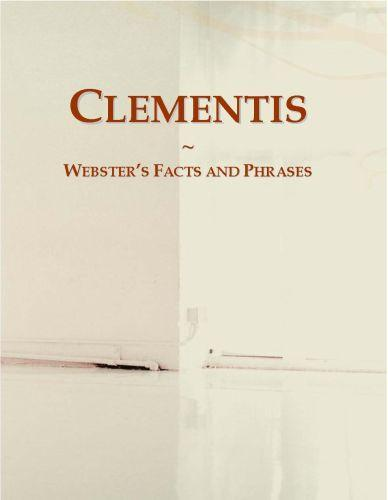 Clementis: Webster?s Facts and Phrases EB9780546695007