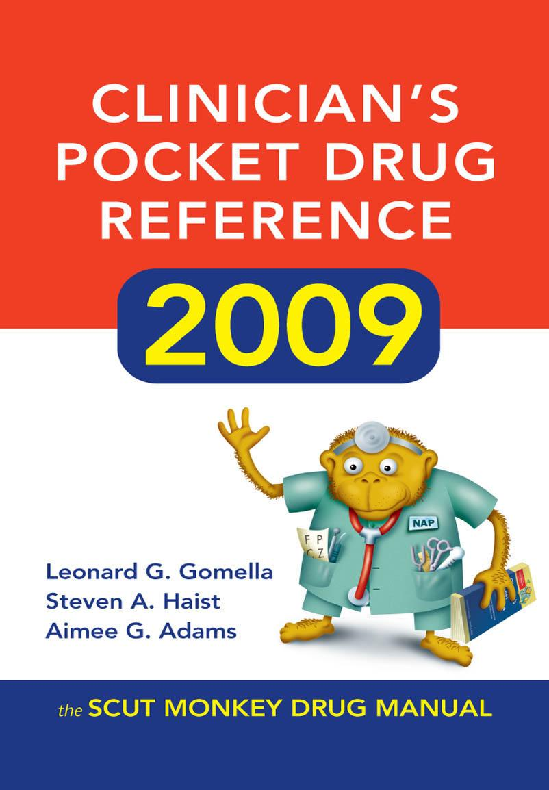 Clinician's Pocket Drug Reference 2009 EB9780071602815