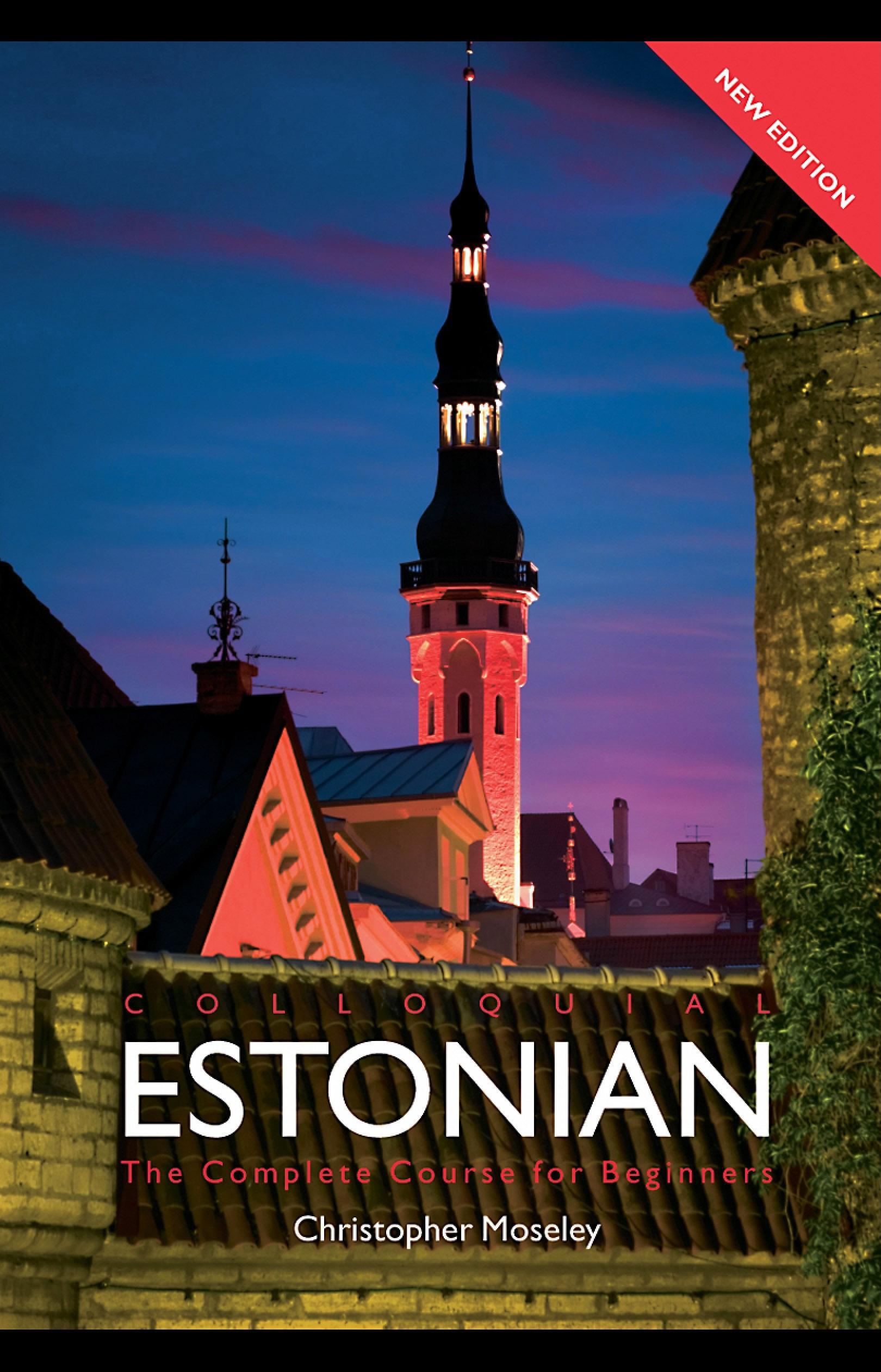 Colloquial Estonian EB9780203019696