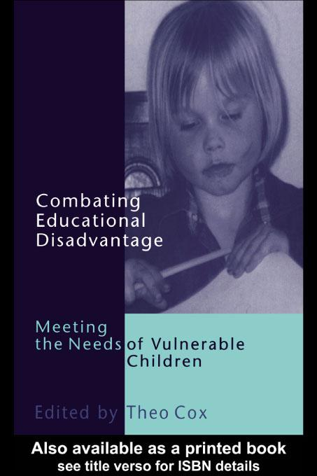 Combating Educational Disadvantage EB9780203172674