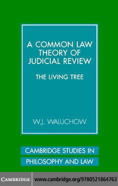 Common Law Theory Judicial Review EB9780511271649