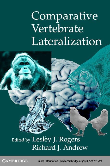 Comparative Vertebrate Lateralization EB9780511060618