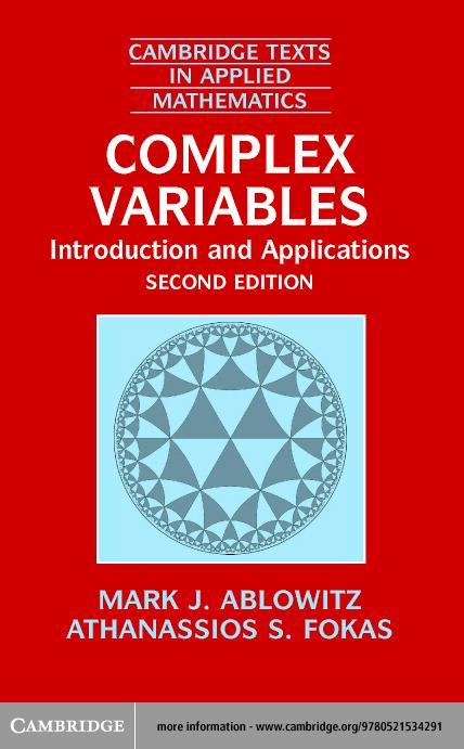 Complex Variables EB9780511074288