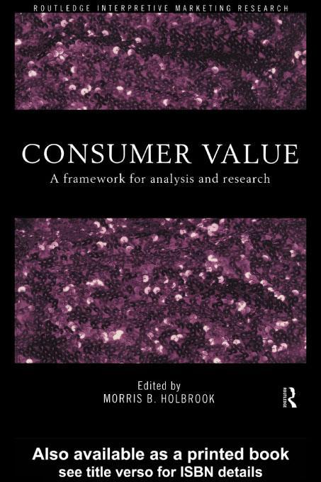 Consumer Value EB9780203010679