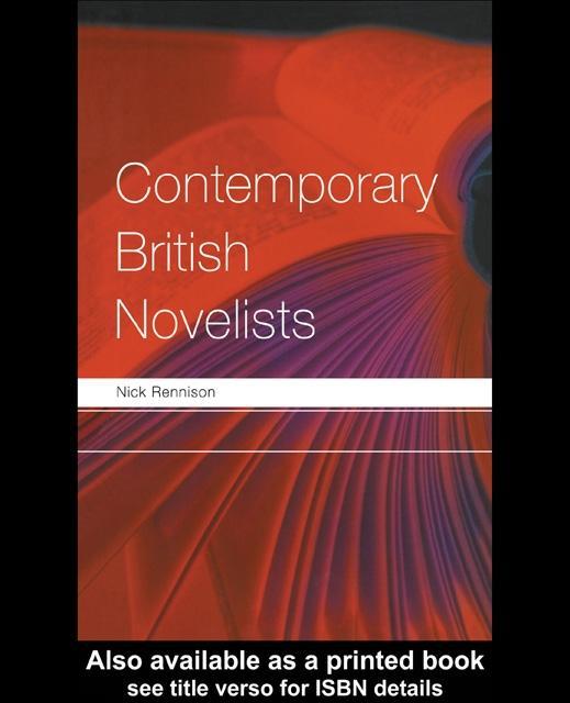 Contemporary British Novelists EB9780203644683