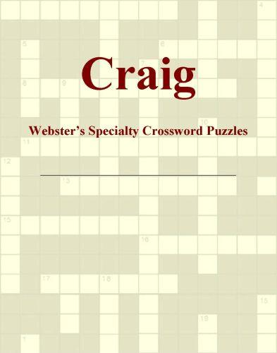 Craig - Webster's Specialty Crossword Puzzles EB9780546818413