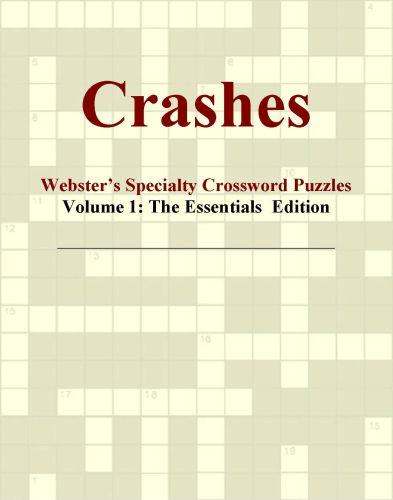 Crashes - Webster's Specialty Crossword Puzzles, Volume 1: The Essentials  Edition EB9780546424713