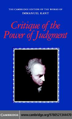 Critique of the Power of Judgment EB9780511251665