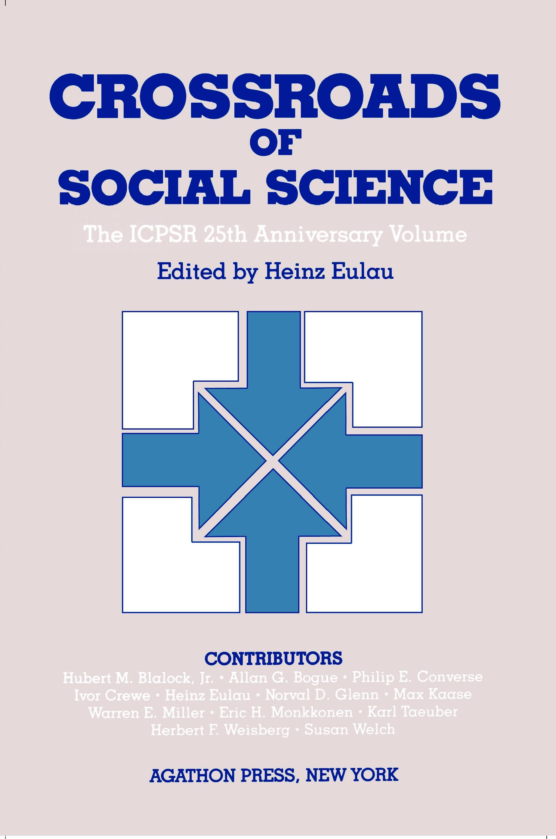 Crossroads of Social Science (ebook) EB9780875862705